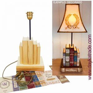 lampara libros