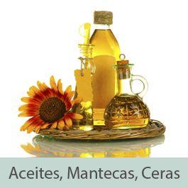 Aceites, Mantecas, Ceras